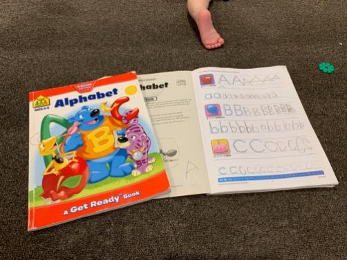 アルファベット練習